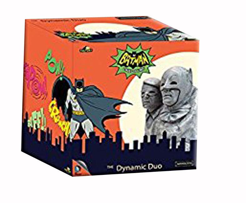 Batman 1966 TV Series Dynamic Duo Batman and Robin Monolith 5-Inch Statue