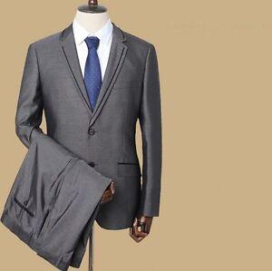 Caricamento dell immagine in corso Elegante-abito -vesstito-completo-uomo-grigio-giacca-pantalone- bcbaeecf49c