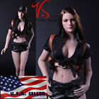 """1/6 Tactical Military Outfits Shorts Set For 12"""" Phicen Hot Toys Female Figure"""