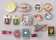 1970s.RUSSIAN SOVIET FOOTBALL USSR PIN BADGE MEDAL ORDER AWARD GOLD SILVER SPORT