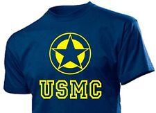 T-Shirt US Army Allied Star Ihr Name Marke Marines USMC Seals Vietnam Gr 3-5XL
