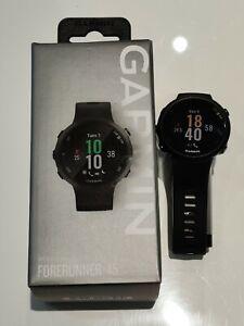 Garmin Forerunner 45 - Montre de course GPS connectée - Large - Noir