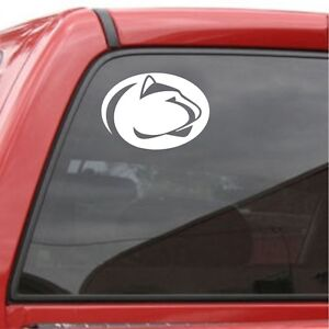 Details About Penn State Nittany Lions Logo Vinyl Car Truck Decal Window Sticker Ncaa College