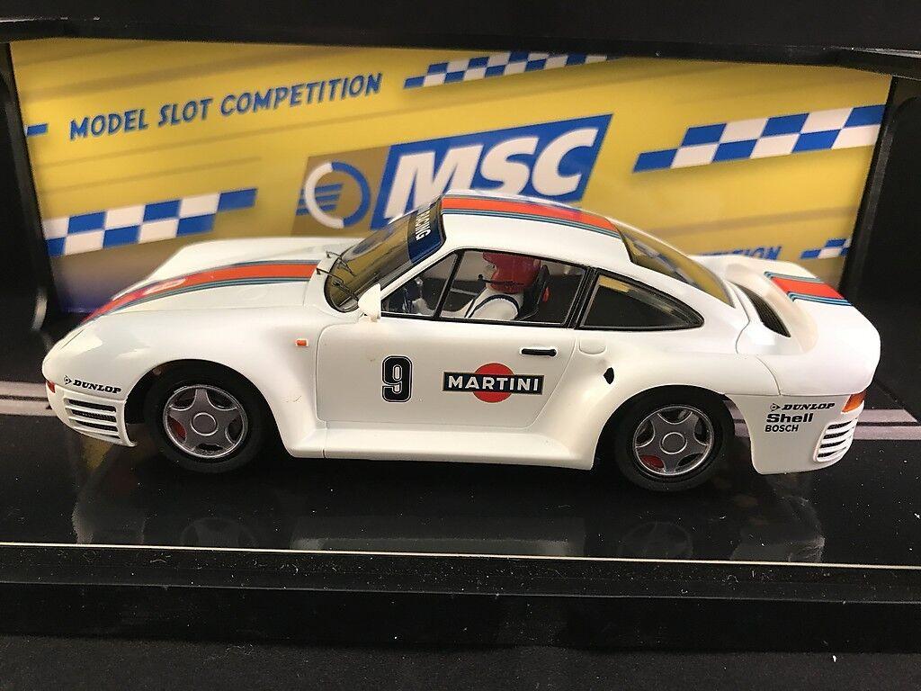 6041 MSC PORSCHE 959 MARTINI RACING  1 32 SLOT CAR