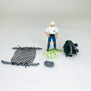 Jurassic Park Kenner Alan Grant Series 2 w/ Net Trap ...