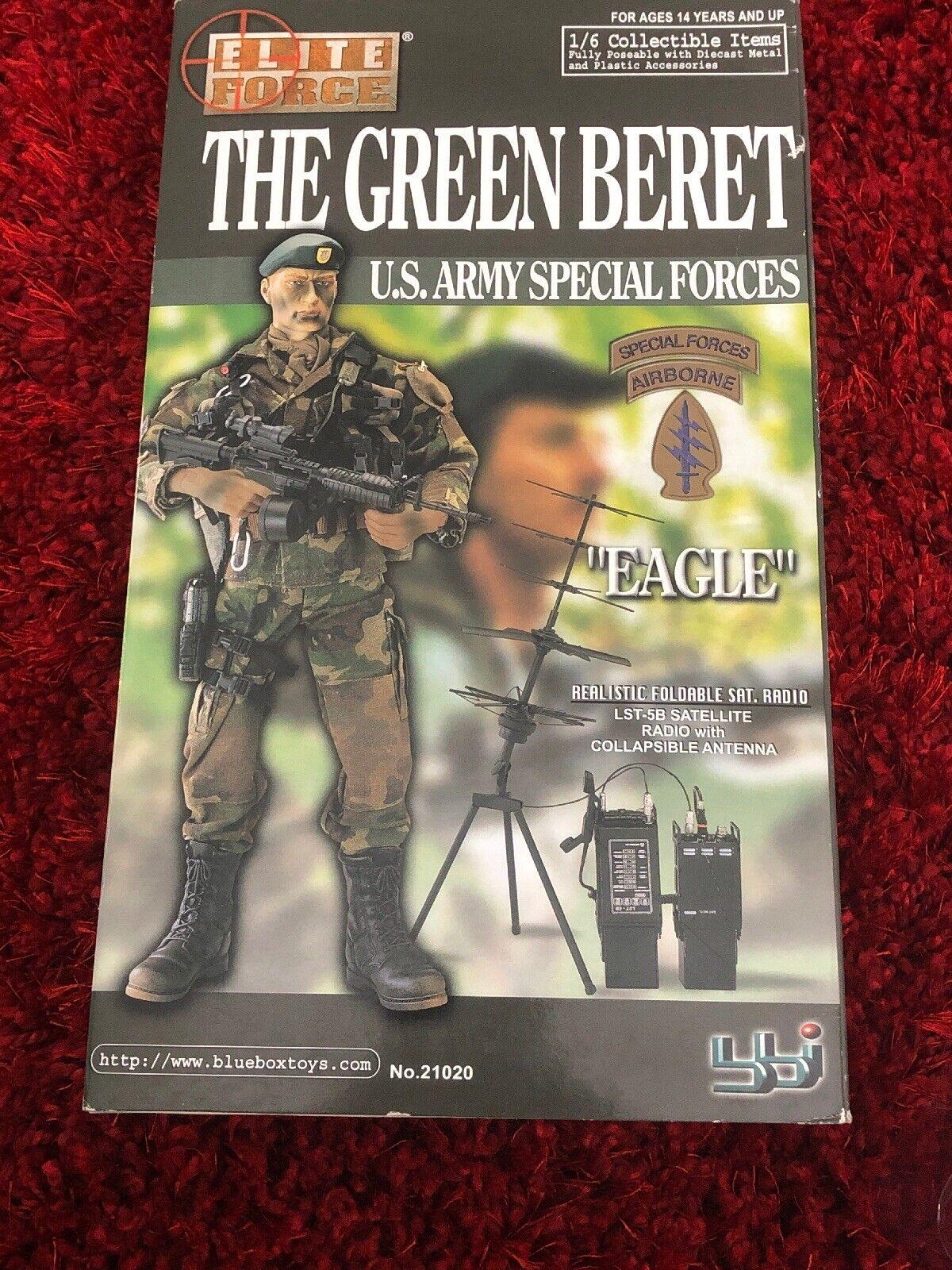Il Berretto verde dell'esercito statunitense  FORZE Missione  Eagle  azione cifra  in vendita