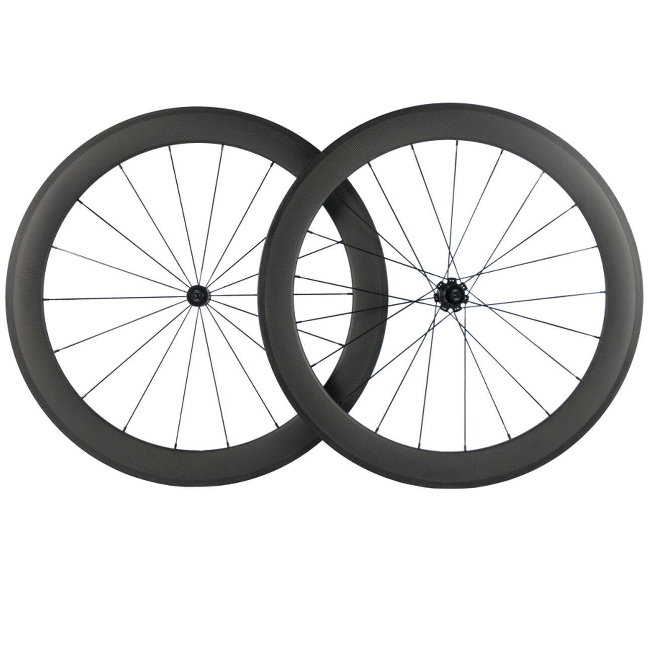 60MM Clincher Carbon Wheelset Road Bike R7 Hub R7 Ceramic Hub 23MM 25MM Width