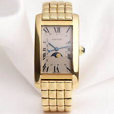 Cartier Tank Americaine Moon Phase 18K