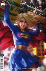 Supergirl-33-Card-Stock-Var-Ed-yotv-Dark-Gifts-2019-DC-Comics-USA-K546