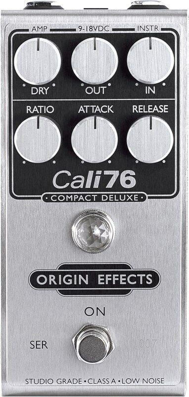 Origin Effects Cali76 Compact Deluxe FET Compressor Pedal