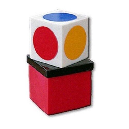 Magician/'s Color Vision Illusion Colour Prediction Box Real Magic Trick