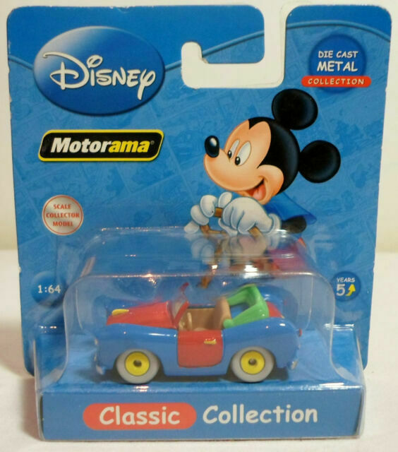 Disney Store  Motorama Mickey Die Cast 1:43 New in Box