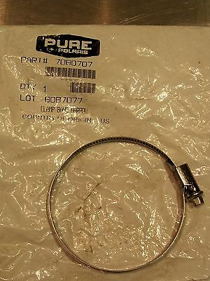 NOS POLARIS 7080707 AIR BOX CLUTCH COVER NARROW BAND CLAMP SPORTSMAN MAGNUM