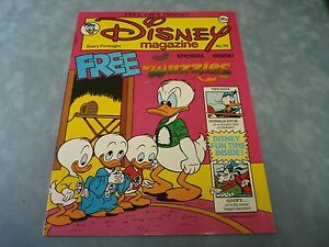 VINTAGE-DISNEY-MAGAZINE-NO-76-BY-LONDON-EDITIONS-MAGAZINES-VERY-RARE-COMIC