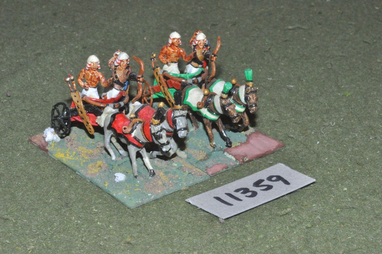 25mm biblical   egyptian - chariots 2 chariots - chariot (11359)