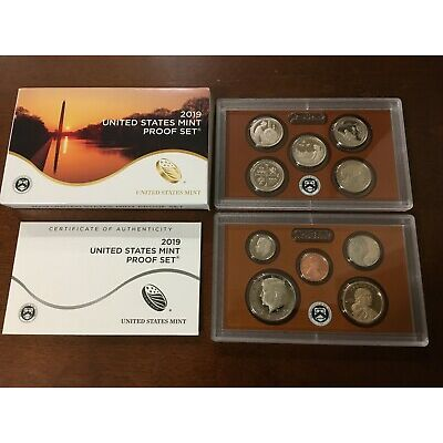 2019 S MINT US MINT PROOF SET  10 COINS in US MINT PACKAGING