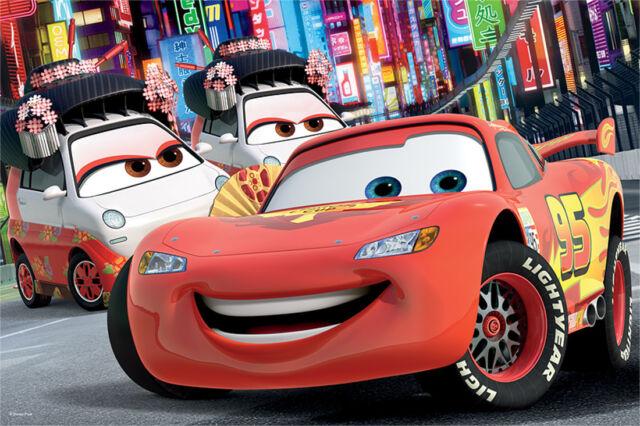 Disney Pixar Cars Puzzle 60 Teilig 33x22cm ab 4 Jahre aus umweltfreundlichen ...