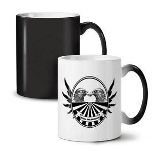 Freedom Bird Quote NEW Colour Changing Tea Coffee Mug 11 oz | Wellcoda