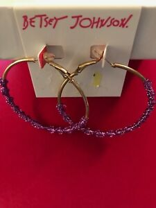BETSEY-JOHNSON-PAIR-0F-EARRINGS-BOUGHT-AND-SOLD-USA