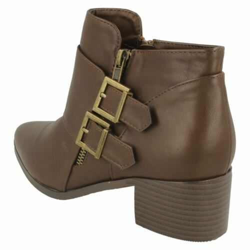 F50385 Synthetic Smart Ankle Boots Ladies SALE Spot On