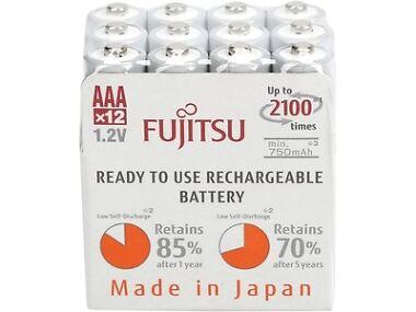12-Pk. Fujitsu HR-4UTC(12M)EX AAA Rechargeable Batteries