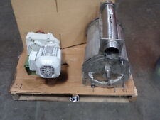 Textile Rotary Feeder Distributor W 15 Kw Motor And Gear Stainless