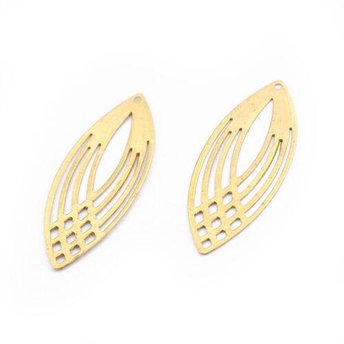 brass earring charm Brass diamond charm brass earring finding-brass charm for earring jewelry finding supplies-brass earring pendant