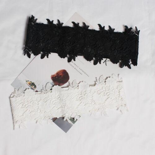 Lady dentelle élastique Ceinture Ceinture Corset Gothic Lolita Floral Mariage Chic