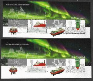 Australian Antarctic Territory-RSV Nuyina-IMPERF & Perf  m/s mnh 2020(Scarce)