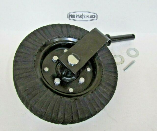 BUSH HOG, RHINO, KING KUTTER, WOODS, LAND PRIDE TAIL WHEEL ASSEMBLY WITH  1-1/4