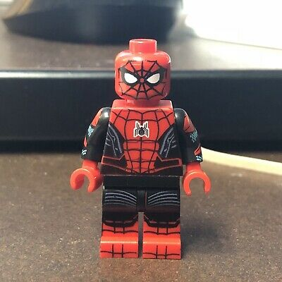 LEGO Custom UV Printed Far From Home Black and Red Spider-Man Minifigure Minifig