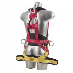 s l300 8 point safety fall arrest full body fall protection harness