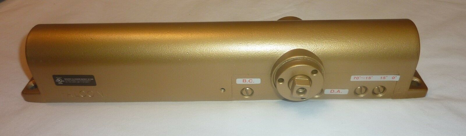 Ingersoll Rand Falcon SC81 Door Closer HD 43453 Full Cover  Delayed Action BRASS