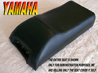 Yamaha Srx 340 440 1978-80 Seat Cover All Black Srx340 Srx440 510a