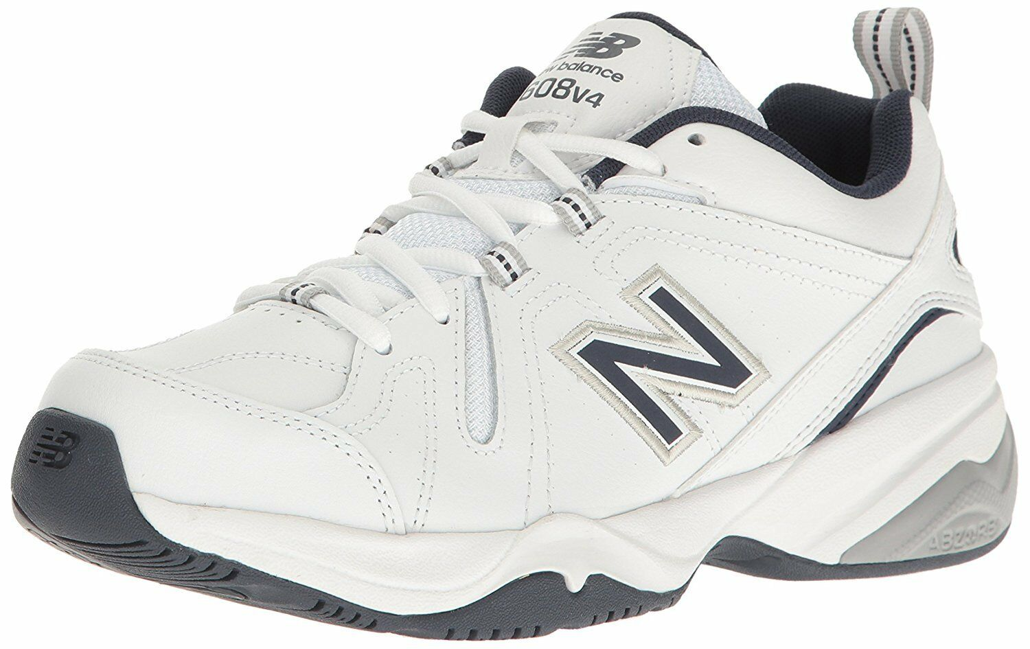 New Balance Men's MX608v4 Training shoes, White Navy,