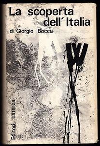 GIORGIO-BOCCA-034-LA-SCOPERTA-DELL-039-ITALIA-034-PRIMA-EDIZIONE