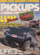 Pickups & Mini-Trucks June 1985 Ford, 4x4 Turbo Toyota w/ML 051017nonDBE
