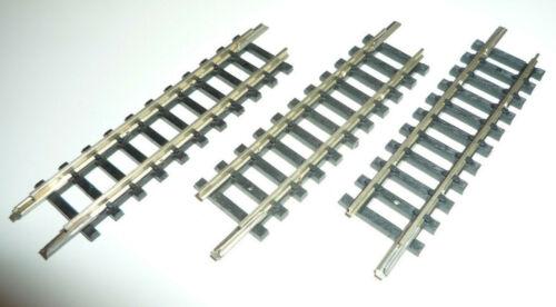 3 Stück X486X 14905 MINITRIX N 4905 gerades Gleis 76,3mm