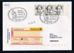10132-So-R-Label-B-Briefmarkentage-SST-Berliner-Originale-8-2-01-MeF-Frauen
