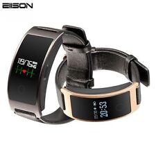 Reloj Inteligente de Presión arterial Pulsera banda Pulsometro Ritmo Cardíaco Podómetro Iphone