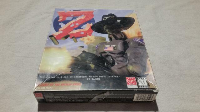Z (PC, 1996) FIRST PRINT BIGBOX COMPLETE rare