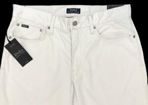 ab592cea Details about Men's POLO RALPH LAUREN Khaki Jean-Style Pants Tag = 36x32  NWT Prospect Straight