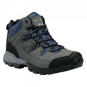 Regatta-Mens-Holcombe-Mid-Waterproof-Walking-Hiking-Boot-Navy-12-RRP-80