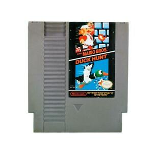 Super-Mario-Bros-Duck-Hunt-Nintendo-Nes-Works-Great-Fast-Shipping-Authentic