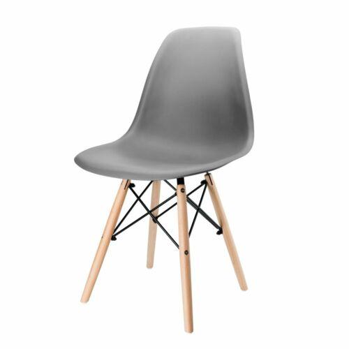 2//4//6er Esszimmerstühle Set Wohnzimmer Büro Stühle Küchenstuhl Stuhl Kunststoff