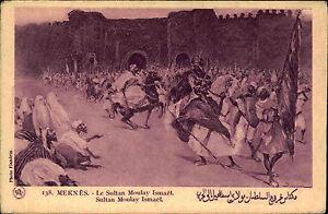 Meknes-Marokko-Maroc-Africa-Afrika-1920-30-Sultan-Moulay-Ismail-Ismael-Schlacht