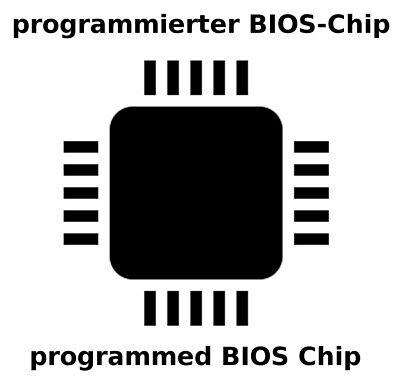 Asus A75V BIOS Chip programmiert programmed LA-8222P