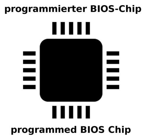 Asus a75v Bios Chip programmé Programmed la-8222p