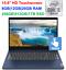 "thumbnail 1 - 2021 Lenovo IdeaPad 3 15.6"" Touchscreen Laptop i3-10110U, Upto 20GB RAM&1TB SSD"
