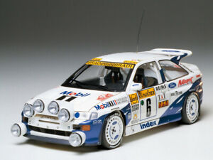 RARE-Tamiya-1-24-FORD-ESCORT-RS-COSWORTH-4X4-Monte-Carlo-94-Rally-Car-24144